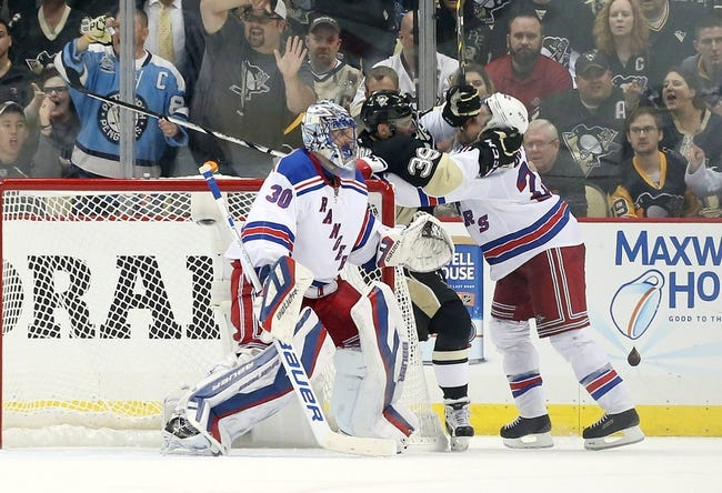 Pittsburgh Penguins vs. New York Rangers - 4/22/15 NHL Pick, Odds, and Prediction