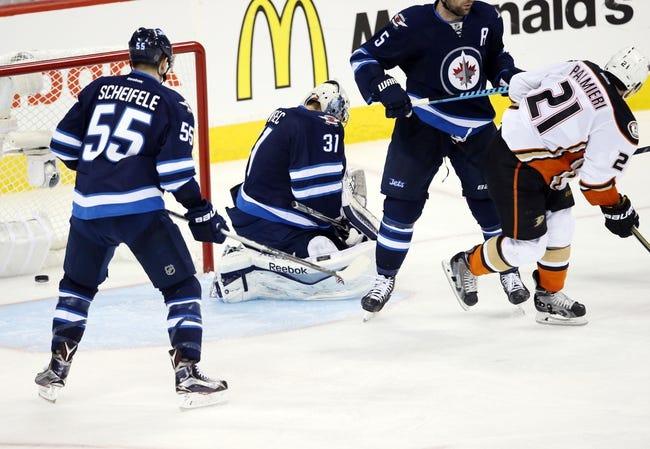 Winnipeg Jets vs. Anaheim Ducks - 4/22/15 NHL Pick, Odds, and Prediction