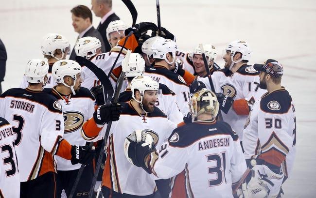Anaheim Ducks at Winnipeg Jets- 4/22/15 NHL Pick, Odds, and Prediction