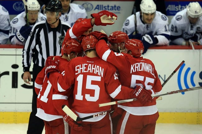 Tampa Bay Lightning  at Detroit Red Wings- 4/23/15 NHL Pick, Odds, and Prediction