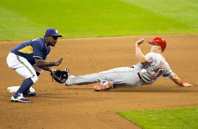 MLB | Cincinnati Reds (8-7) at Milwaukee Brewers (2-13)