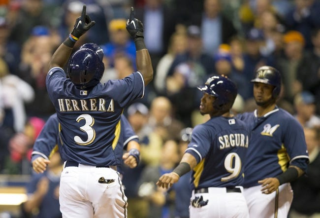 Milwaukee Brewers vs. Cincinnati Reds - 4/22/15 MLB Pick, Odds, and Prediction