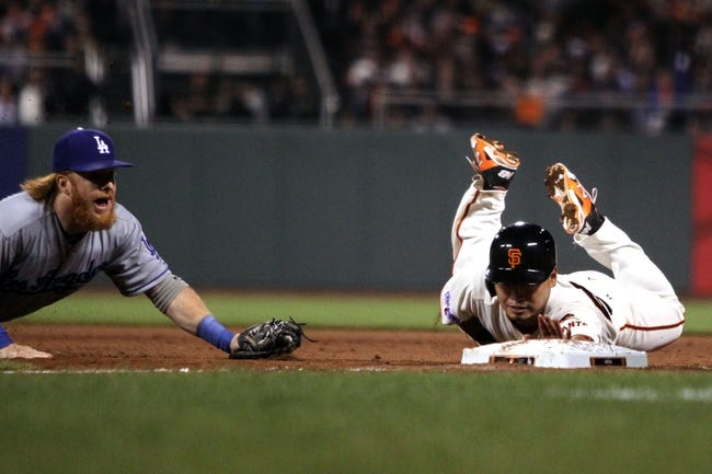 Dodgers vs. Giants - 4/27/15 MLB Pick, Odds, and Prediction