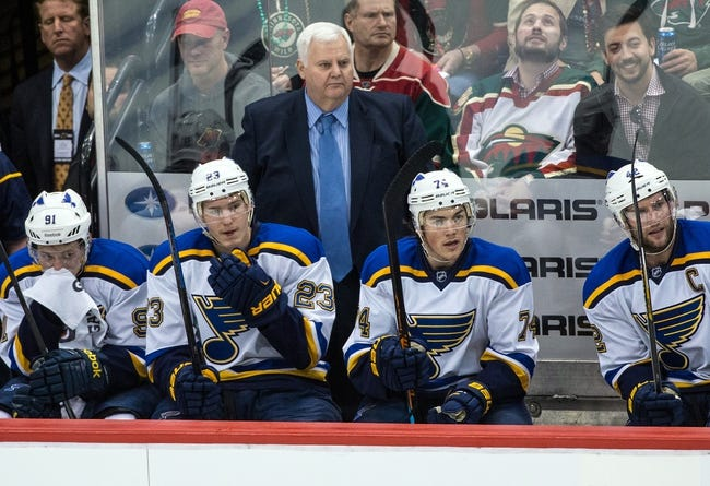 St. Louis Blues vs. Minnesota Wild - 4/24/15 NHL Pick, Odds, and Prediction