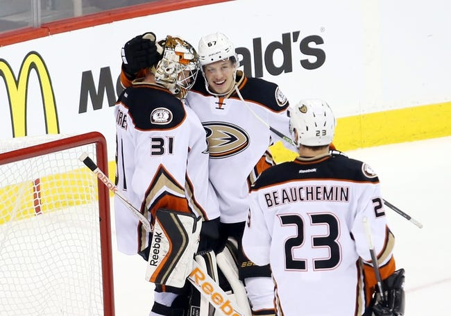 Anaheim Ducks vs. Winnipeg Jets - 1/3/16 NHL Pick, Odds, and Prediction