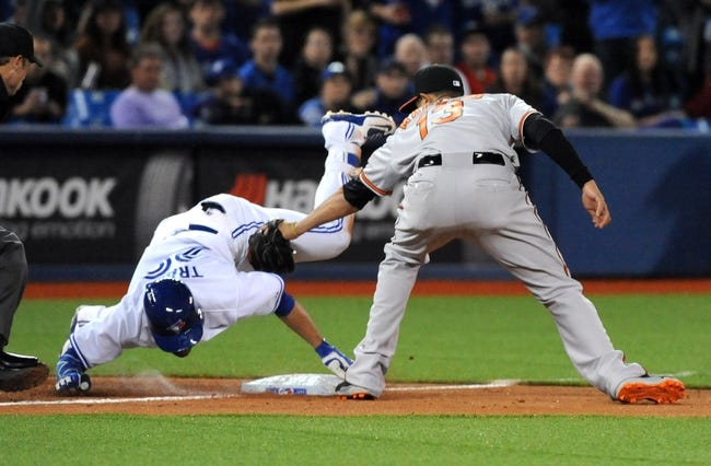Baltimore Orioles vs. Toronto Blue Jays - 5/11/15 MLB Pick, Odds, and Prediction