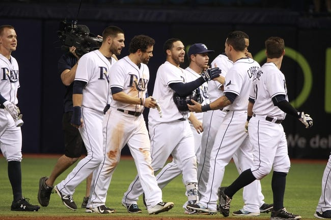 MLB | Tampa Bay Rays (13-12) at Boston Red Sox (12-12)