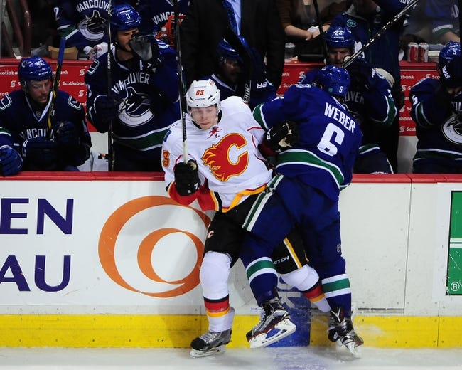 Calgary Flames vs. Vancouver Canucks - 4/25/15 NHL Pick, Odds, and Prediction