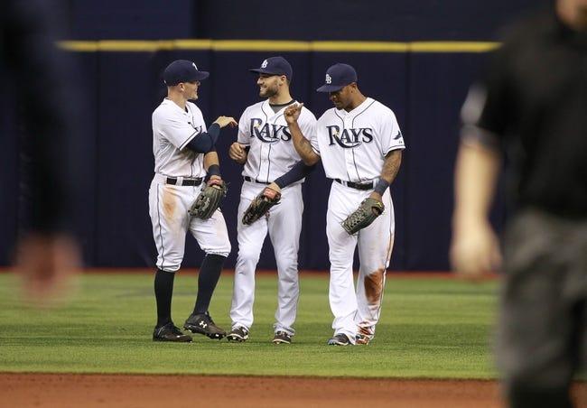 Rays vs. Blue Jays - 4/25/15 MLB Pick, Odds, and Prediction