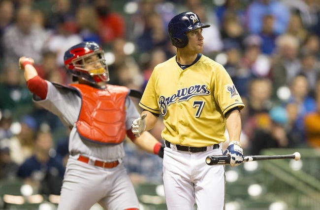 Milwaukee Brewers vs. St. Louis Cardinals - 4/25/15 MLB Pick, Odds, and Prediction