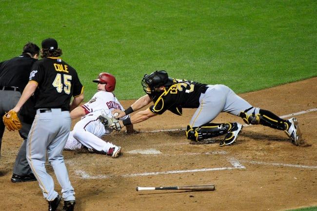 Diamondbacks vs. Pirates - 4/25/15 MLB Pick, Odds, and Prediction