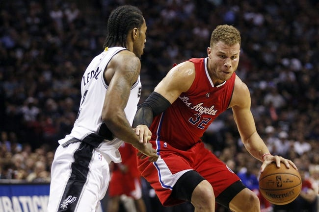 Clippers at Spurs - 4/26/15 NBA Pick, Odds, and Prediction