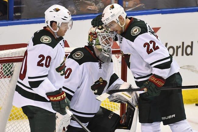 NHL | St. Louis Blues (53-27-7) at Minnesota Wild (49-30-8)