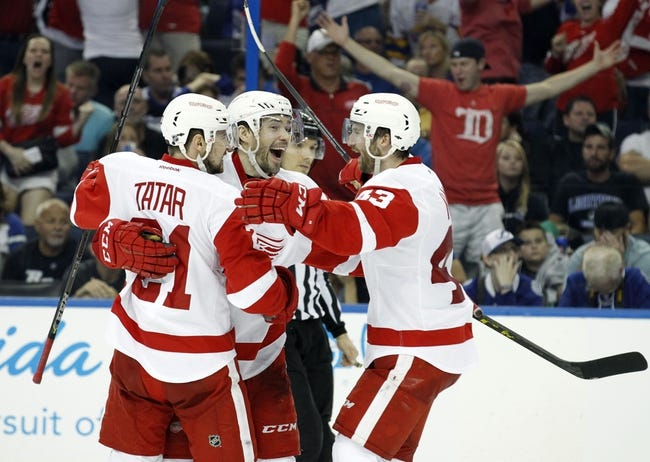 Tampa Bay Lightning at Detroit Red Wings- 4/27/15 NHL Pick, Odds, and Prediction