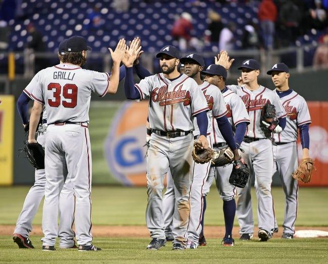 Philadelphia Phillies vs. Atlanta Braves - 4/26/15 MLB Pick, Odds, and Prediction