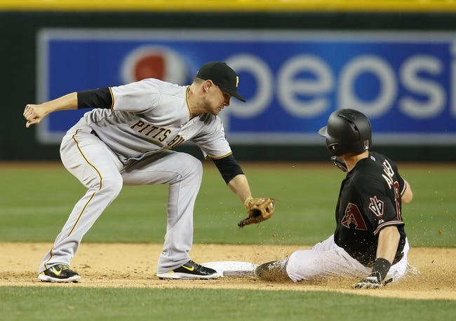 Diamondbacks vs. Pirates - 4/26/15 MLB Pick, Odds, and Prediction
