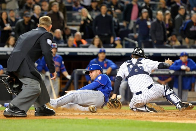 New York Mets vs. New York Yankees - 9/18/15 MLB Pick, Odds, and Prediction