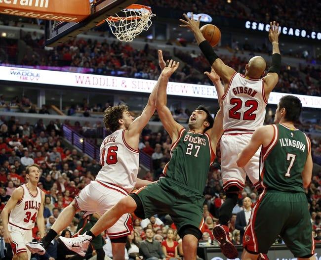 Bulls at Bucks - 4/30/15 NBA Pick, Odds, and Prediction