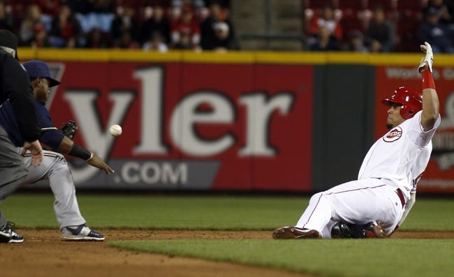 Cincinnati Reds vs. Milwaukee Brewers - 4/28/15 MLB Pick, Odds, and Prediction