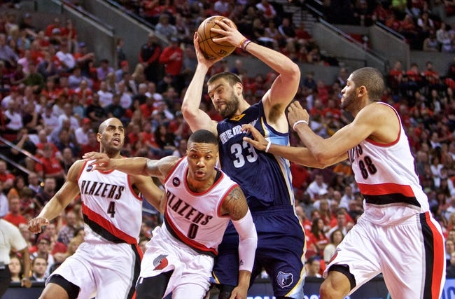 Trail Blazers at Grizzlies - 4/29/15 NBA Pick, Odds, and Prediction