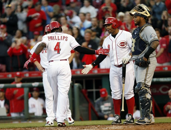 Reds vs. Brewers - 4/29/15 MLB Pick, Odds, and Prediction