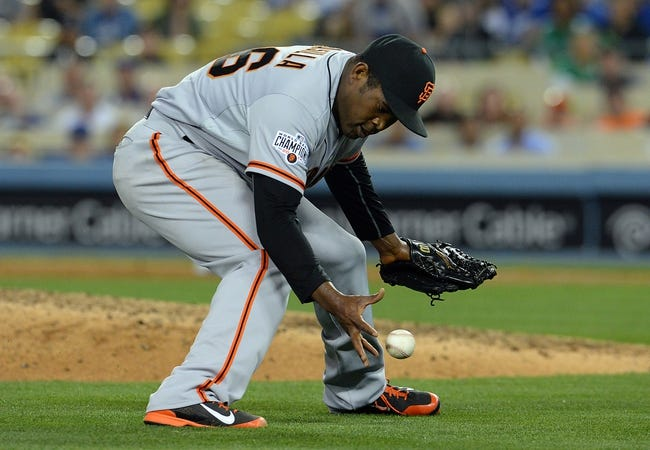 San Francisco Giants vs. Los Angeles Dodgers - 5/19/15 MLB Pick, Odds, and Prediction