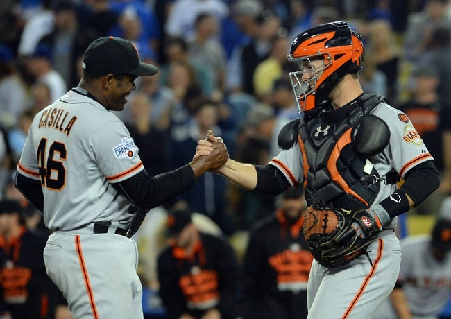 Los Angeles Dodgers vs. San Francisco Giants - 4/29/15 MLB Pick, Odds, and Prediction