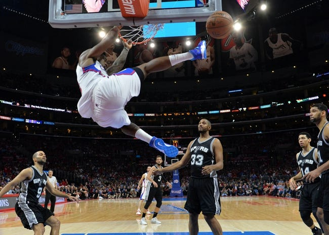 Clippers at Spurs - 4/30/15 NBA Pick, Odds, and Prediction