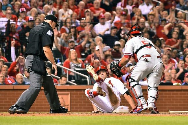 St. Louis Cardinals vs. Philadelphia Phillies - 4/30/15 MLB Pick, Odds, and Prediction