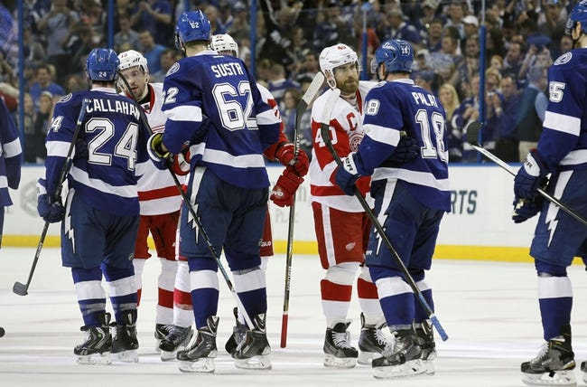 Detroit Red Wings vs. Tampa Bay Lightning - 10/13/15 NHL Pick, Odds, and Prediction