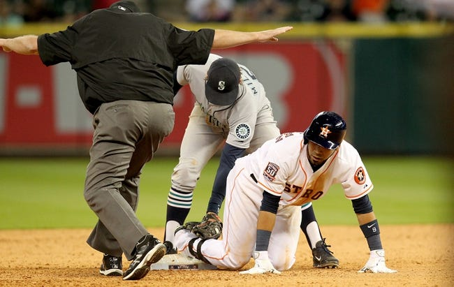 MLB   Seattle Mariners (10-12) at Houston Astros (15-7)