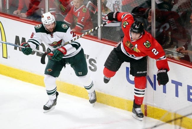 Chicago Blackhawks vs. Minnesota Wild - 5/3/15 NHL Pick, Odds, and Prediction
