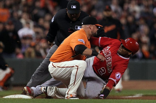 Giants vs. Angels - 5/2/15 MLB Pick, Odds, and Prediction