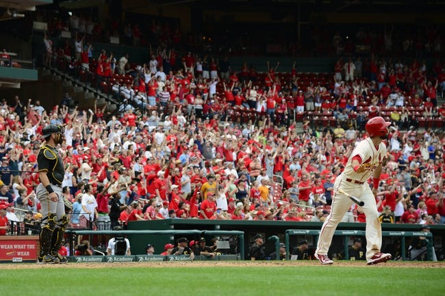 St. Louis Cardinals vs. Pittsburgh Pirates - 5/3/15 MLB Pick, Odds, and Prediction