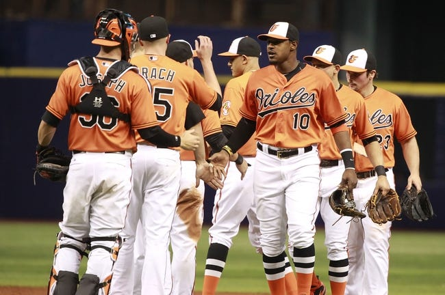 Orioles vs. Rays - 5/3/15 MLB Pick, Odds, and Prediction
