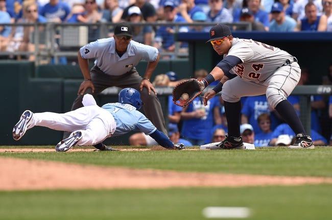 Tigers vs. Royals - 5/8/15 MLB Pick, Odds, and Prediction