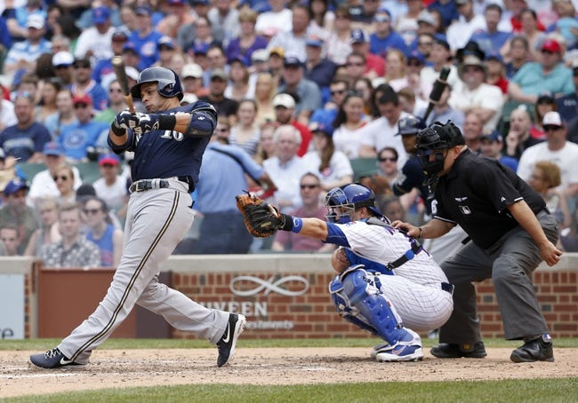 Brewers vs. Cubs - 5/8/15 MLB Pick, Odds, and Prediction