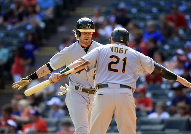 Rangers at Athletics - 6/9/15 MLB Pick, Odds, and Prediction