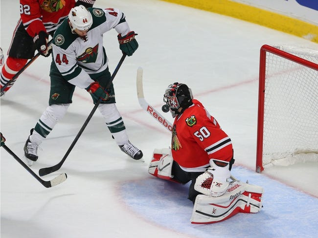 Chicago Blackhawks at Minnesota Wild - 5/5/15 NHL Pick, Odds, and Prediction