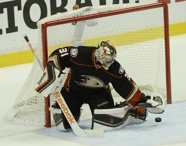 NHL | Anaheim Ducks (57-24-7) at Calgary Flames (49-34-7)