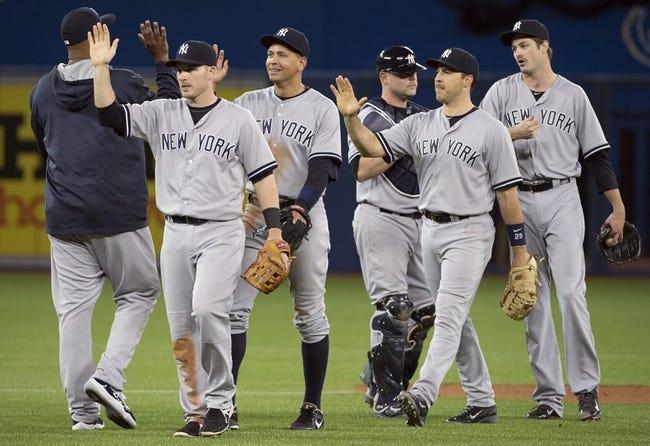 Blue Jays vs. Yankees - 5/6/15 MLB Pick, Odds, and Prediction