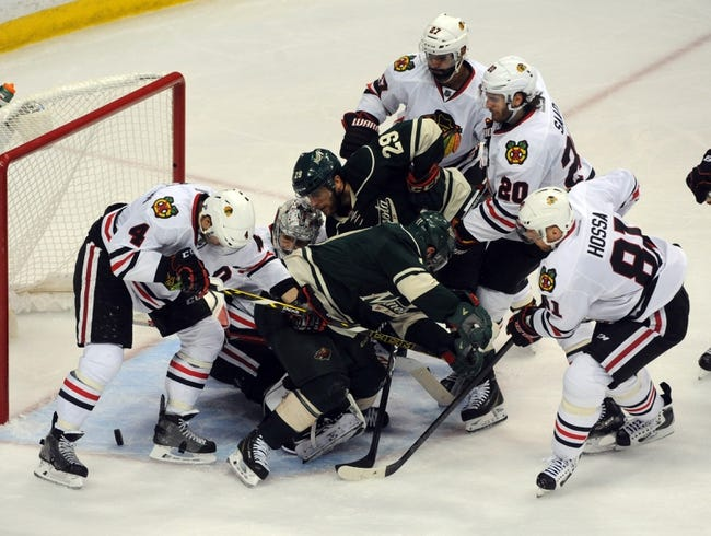 NHL | Chicago Blackhawks (55-30-6) at Minnesota Wild (50-33-8)