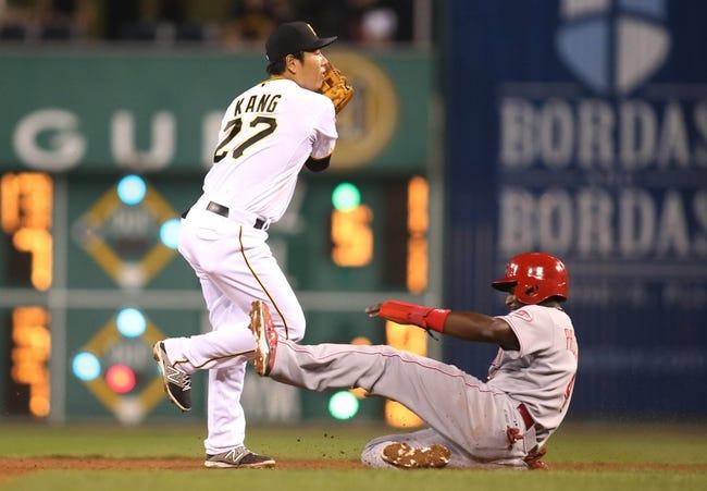 Pittsburgh Pirates vs. Cincinnati Reds - 6/23/15 MLB Pick, Odds, and Prediction