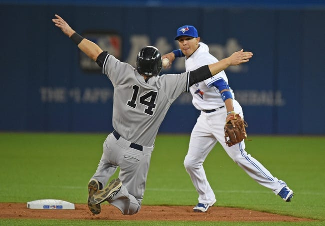 New York Yankees vs. Toronto Blue Jays - 8/7/15 MLB Pick, Odds, and Prediction