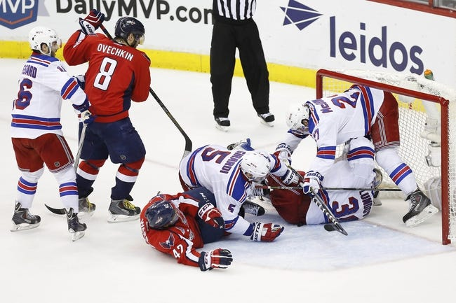 Washington Capitals at New York Rangers- 5/8/15 NHL Pick, Odds, and Prediction