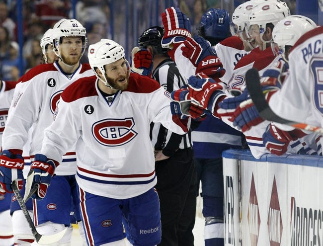 Tampa Bay Lightning at Montreal Canadiens- 5/9/15 NHL Pick, Odds, and Prediction