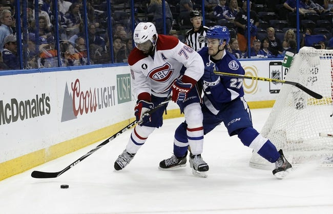 NHL | Tampa Bay Lightning (57-28-8) at Montreal Canadiens (55-26-11)