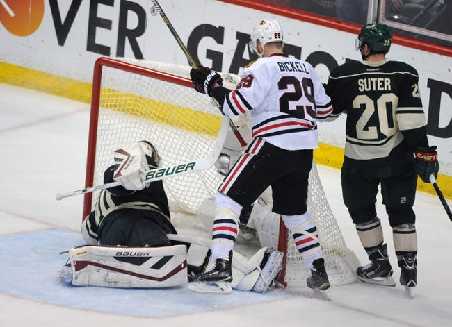 Minnesota Wild vs. Chicago Blackhawks - 10/30/15 NHL Pick, Odds, and Prediction