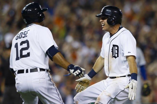 Tigers vs. Royals - 5/9/15 MLB Pick, Odds, and Prediction