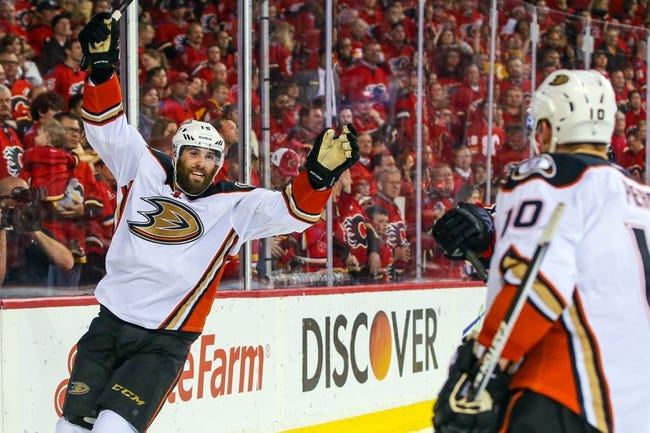 Anaheim Ducks vs. Calgary Flames - 5/10/15 NHL Pick, Odds, and Prediction